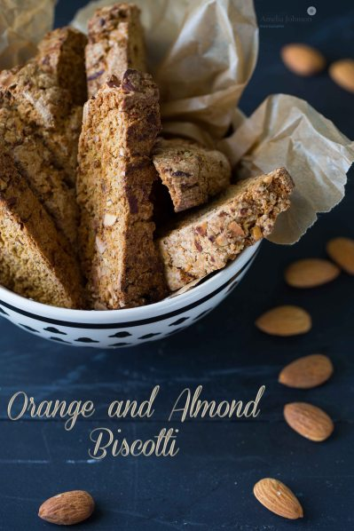 Orange and Almond Biscotti Amelia Johnson
