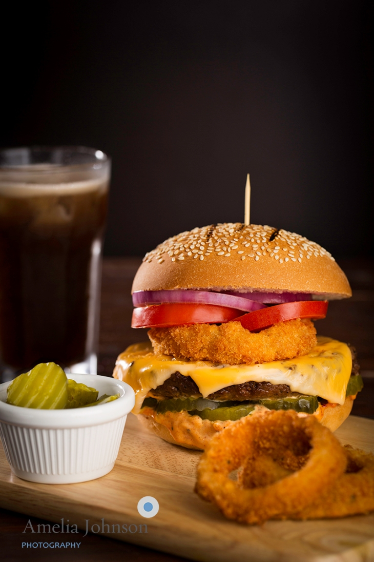 Burger Amelia Johnson Photography