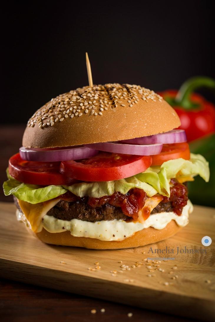 Habanero Burger The Grateful Photographer